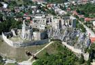 Старовинна фортеця у польських Татрах   - фото з повітряного змія