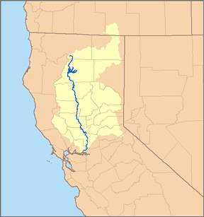 LIBR Final MapRelated Project - California river map